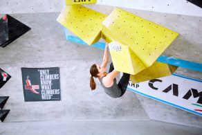 Impression vom Day of the Boulder 2017 in der Boulderwelt Frankfurt
