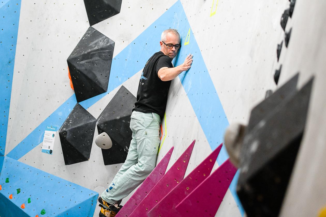 Tech Session Nr 2 2018 in der Boulderwelt Frankfurt